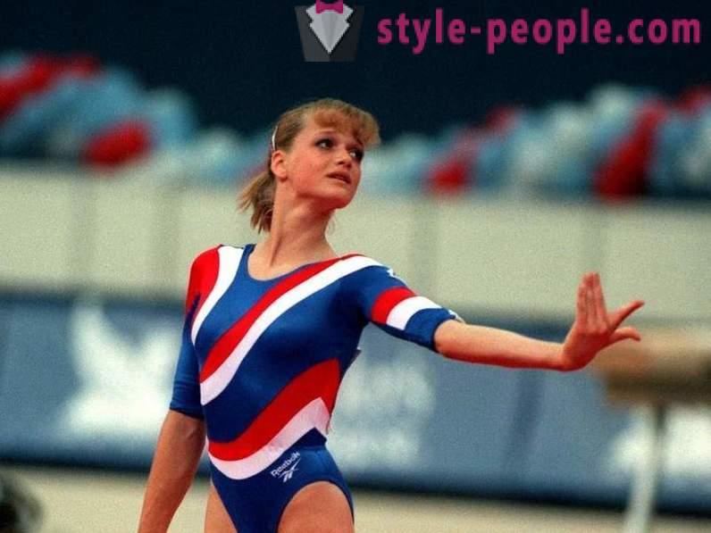 Svetlana Khorkina: biografia, vida pessoal, carreira
